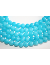 Mashan Jade Beads Aquamarine Sphere 8mm - 48pz