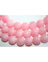 Mashan Jade Beads Light Pink Sphere 14mm - 28pz