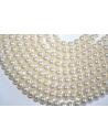 Glass Beads Cream Sphere 6mm - Filo 70pz