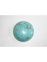 Cabochon Howlite Turquoise Round 30mm - 1pz