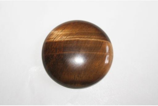 Cabochon Tiger's Eye Round 30mm - 1pz