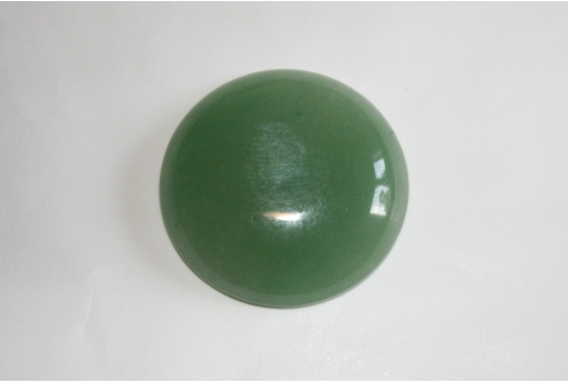 Cabochon Aventurine Verde Tondo 30mm CAP05