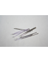 Platinum Plated Headpins 4,6x0,7mm - 40pcs