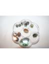 Contenitore per Perline Fiore 10,5x9,2cm. UT12