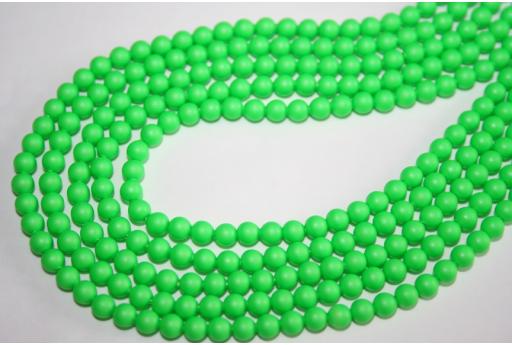 Perle Swarovski 5810 Neon Green 4mm - 20pz