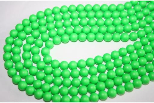 Perle Swarovski 5810 Neon Green 6mm - 12pz