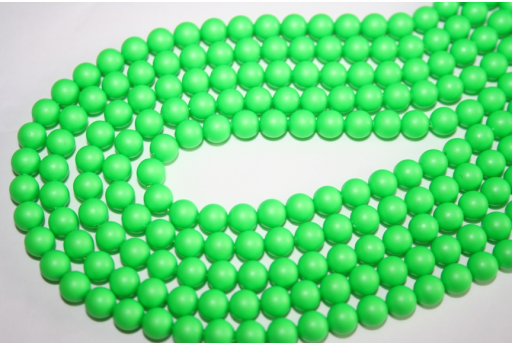 Swarovski Pearls 5810 6mm Neon Green - 12pcs