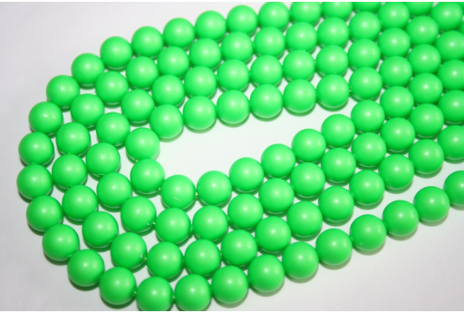 Swarovski Pearls Neon Green 5810 8mm - 8pcs