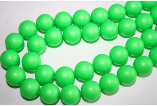 Swarovski Pearls Neon Green 5810 12mm - 2pcs