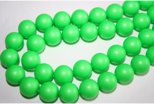 Swarovski Pearls Neon Green 5810 12mm - 2pcs