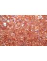 Perline Toho Cubo 4mm, 10gr., Trans Rainbow Rosaline