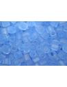 Perline Toho Cubo Trans Frosted Light Sapphire 4mm - 10gr