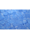 Toho Cube Beads 4mm, 10gr., Trans Frosted Light Sapphire
