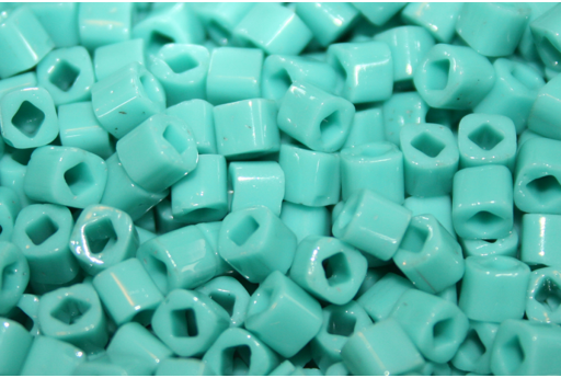 Perline Toho Cubo 4mm, 10gr., Opaque Turquoise