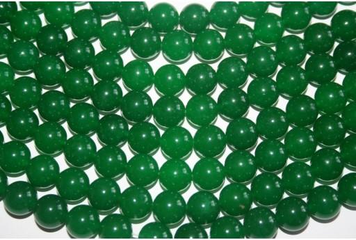 Jade Beads Green Sphere 12mm - 4pz
