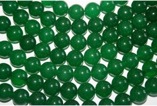 Pietre Giada Verde Sfera 14mm GI8A - 2pz
