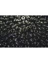Toho Seed Beads 6/0, 10gr., Opaque Jet Col.49