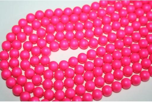 Perle Swarovski 5810 Neon Pink 6mm - 12pz