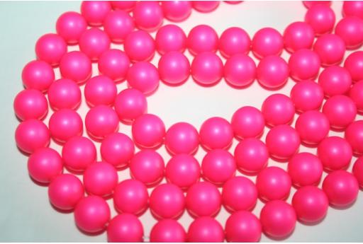 Perle Swarovski Neon Pink 5810 10mm - 4pz