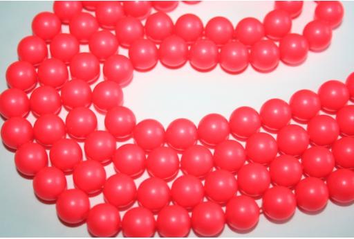Perle Swarovski Neon Red 5810 10mm - 4pz