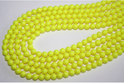 Swarovski Pearls 5810 Neon Yellow 4mm - 20pcs