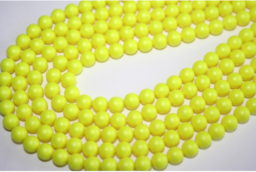 Swarovski Pearls 5810 6mm Neon Yellow - 12pcs