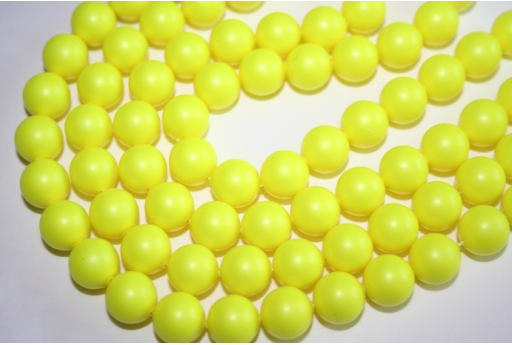 Swarovski Pearls Neon Yellow 5810 10mm - 4pcs