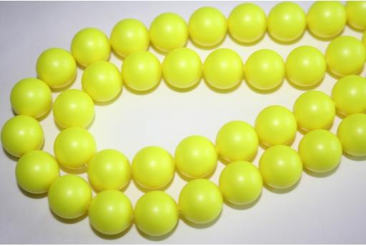 Perle Swarovski 5810 12mm Neon Yellow - 2pz