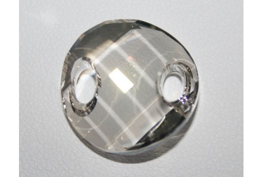 Twist Sew-On Swarovski Crystal Silver Shade 28mm S322128SHA