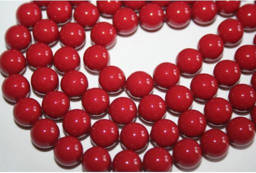 Perle Swarovski Red Coral 5810 10mm - 4pz