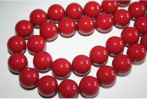 Swarovski Pearls 5811 Red Coral 14mm - 2pcs