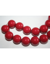 Perla Swarovski 16mm Red Coral 1pz