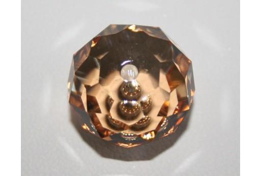 Briolette Bead Swarovski Crystal Golden Shadow 18mm S504018GSHA