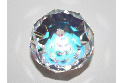 Briolette Bead Swarovski Crystal AB 18mm 5040