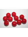 Acrylic Beads Red Sphere 14mm - 25pz