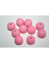 Acrylic Beads Pink Sphere 14mm - 25pz