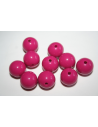 Acrylic Beads Magenta Sphere 14mm - 25pz