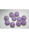 Acrylic Beads Lilac Sphere 14mm - 25pz