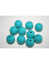Acrylic Beads Sky Blue Sphere 14mm - 25pz