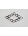 Tibetan Silver Connectors 29,5x19mm - 4pcs