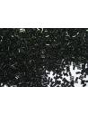 Toho Bugle Beads 3mm, 5gr., Hibrid Antiqued Metallic Black COBG20