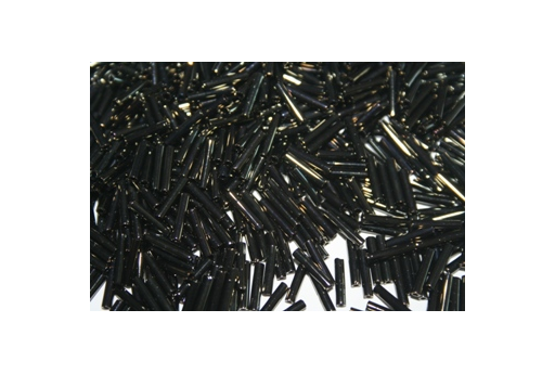 Toho Bugle Beads 9mm, 10gr., Metallic Iris Brown COBG28