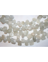 Filo 50 Pietre Moonstone Drop Chips 8x18mm PL05