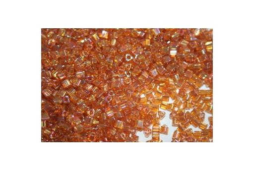 Perline Toho Triangoli 8/0, 10gr., Trans Rainbow Topaz TT162C