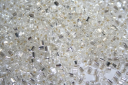 Perline Toho Triangoli Silver-Lined Crystal 8/0 - 10gr