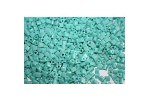 Toho Triangle Beads 8/0, 10gr., Opaque Turquoise TT55