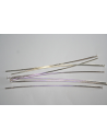 Silver Plated Headpins 60x0,7mm - 40pcs