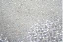 Toho Magatama Beads 3mm, 10gr., Trans-Rainbow Crystal Col.161