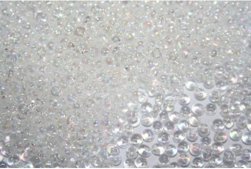 Perline Toho Magatama 3mm, 10gr., Trans-Rainbow Crystal Col.161