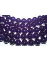 Jade Beads Amethyst Sphere 12mm - 4pz